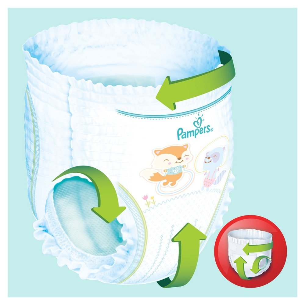 Pampers PANTS  3  Midi 6-11 кг  (60 шт) , Россия   { 82882 }