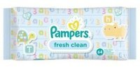 Pampers baby fresh clean с алоэ , 64 шт Германия